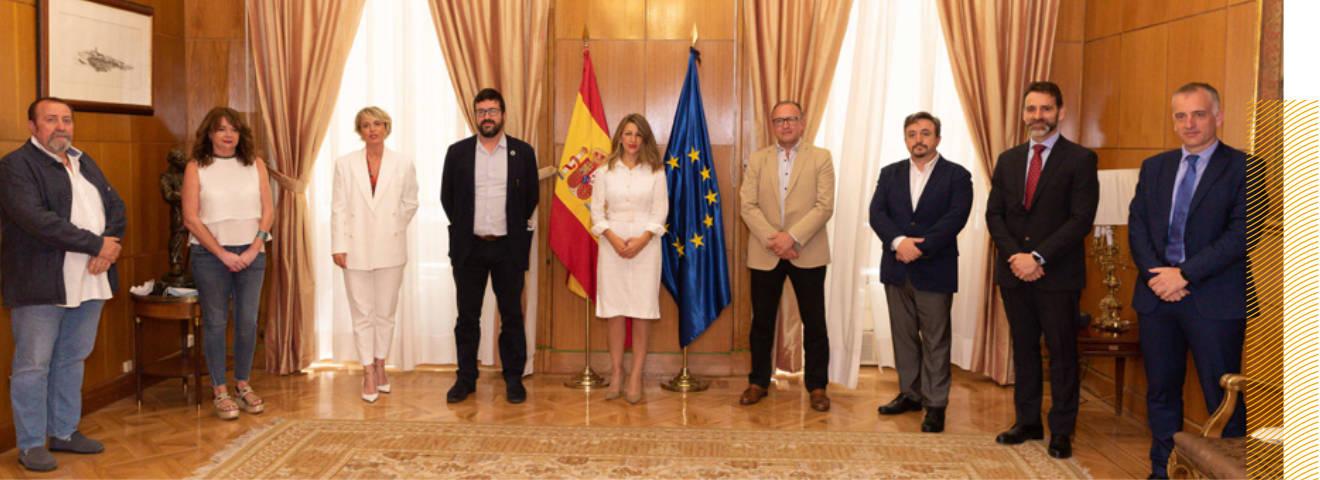 Acto de adhesión al Convenio ESPACIO DIGITALÍZATE de nuevas empresas y fundaciones.